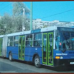 Articulated Bus - Postcard