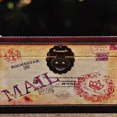 Reisekasten Postkarte