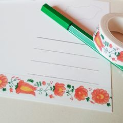 Floral pattern - Washi tape