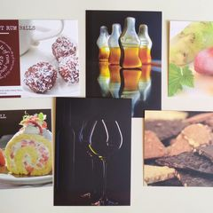 Gastronomy - 6 pcs postcard bundle