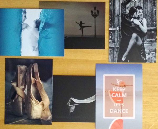 Dance postcards pack04c