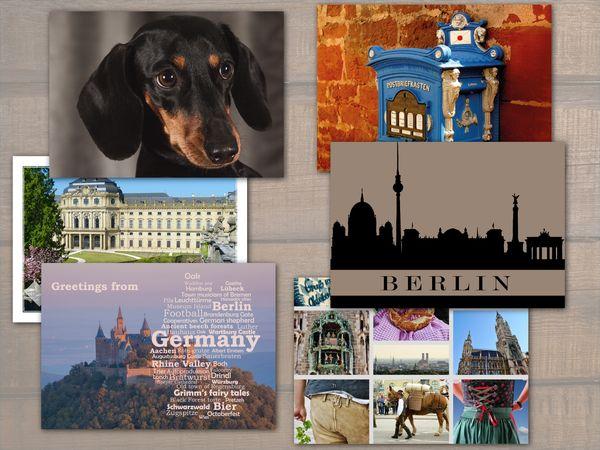 Germany postcard bundle pack19c