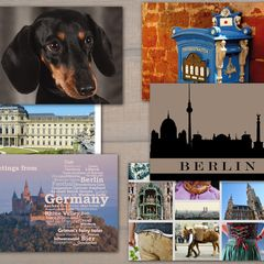 Germany - 6 pcs Postcards Bundle
