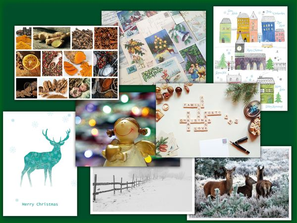 Christmas postcards postcardsisters pack23c