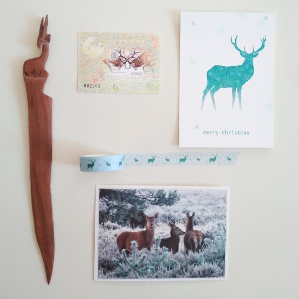 Deers postcardsisters washi23
