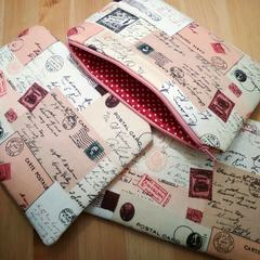 Postcard Pouch (with 10 postcards and 1 pen)