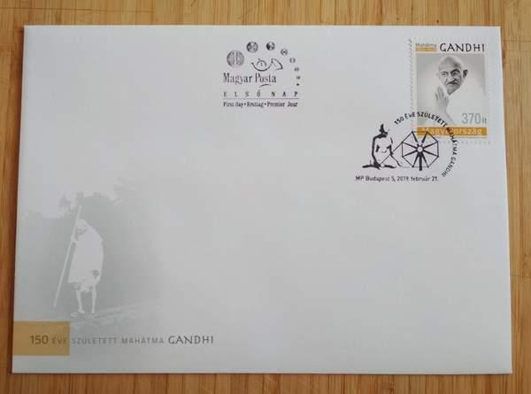 Gandhi fdc