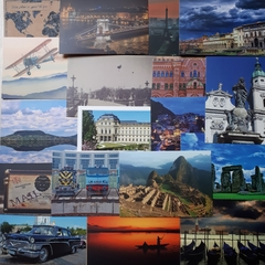 Travel - 18 pcs Postcards Bundle