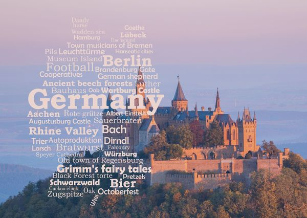 Gf1023c germany wordcloud postcard