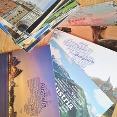 WordCloud Postcards in Bundle