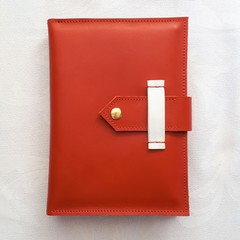 Leather Postcard Case - Folder