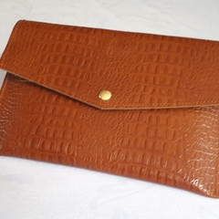 Leather Postcard Folder - Brigi