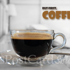 Coffee Postcard