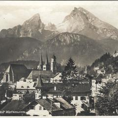 Luzern and Rigi old vintage postcard