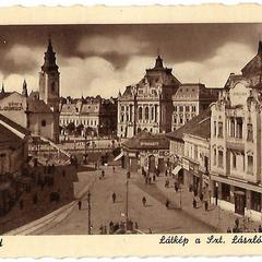 Oradea old postcard