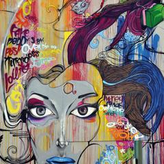 Street art, képeslap
