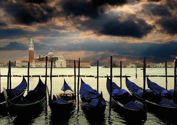 Venice postcard wh101 01c