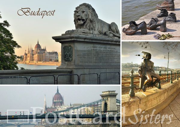 Budapest postcard bp106w 01c