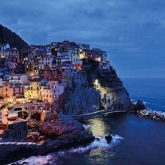 """Cinque Terre"" Postcard"