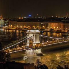 Lánchíd, Budapest képeslap