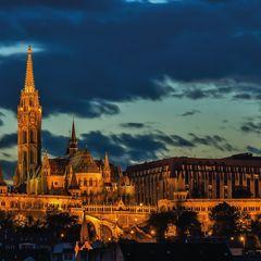 Matthias Church, Budapest Postcard