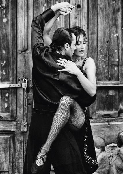 Tango dance postcard da104 01c