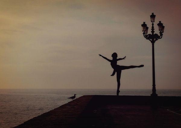 Ballet dance postcard da101 01c