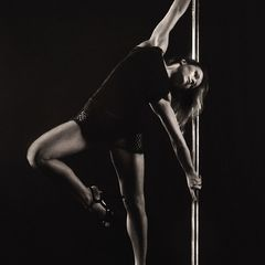Pole Dance Postcard