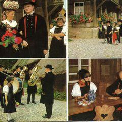 Gutachi skanzen régi képeslap