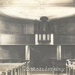 Tiszaszederkény old postcard