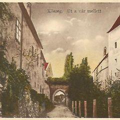 Kőszeg, eredeti vintage képeslap