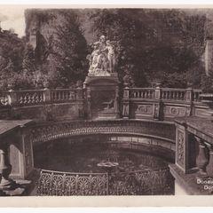 Dunaforrás antik képeslap