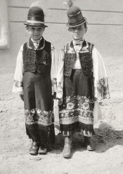 Matyo boys postcard fp113c