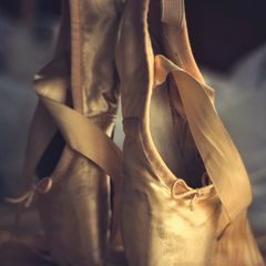 Ballet slippers - Postcard