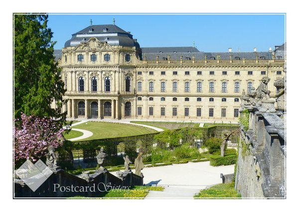 W%c3%bcrzburg postcard wh117wc
