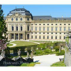 Würzburg - Postcard