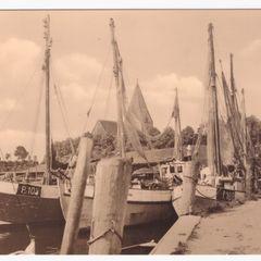 Insel Poel-Kirchdorf - Hafen - Antique Postcard