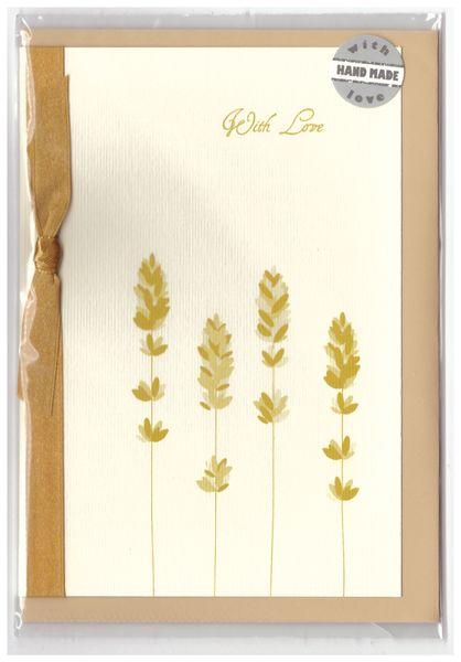 Pramoncard lavender postcard goldc
