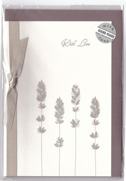 Pramoncard lavender silverc