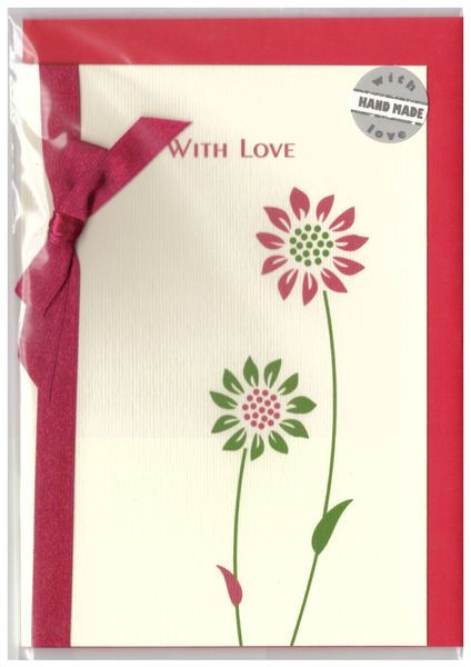 Gerbera greeting card pramon01a924c