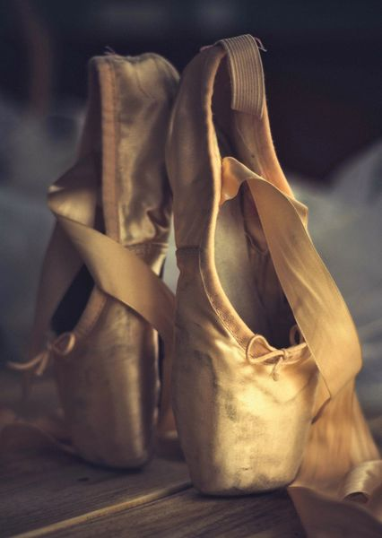 Ballet slippers postcard da105c
