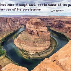 Persistence - Postcard