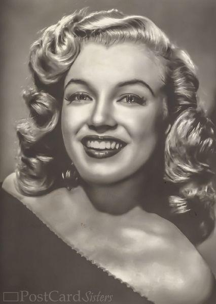 Marilyn monroe postcard vi103c