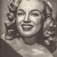 Marilyn Monroe Postkarte