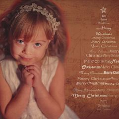 Merry Christmas - Tree Postcard