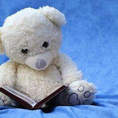 Teddybär - Postkarte