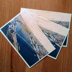 """Budapest view"" - Postcard"