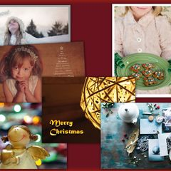 Christmas - 6 pcs Postcards Bundle
