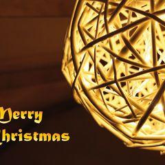 Weihnachtslicht Postkarte