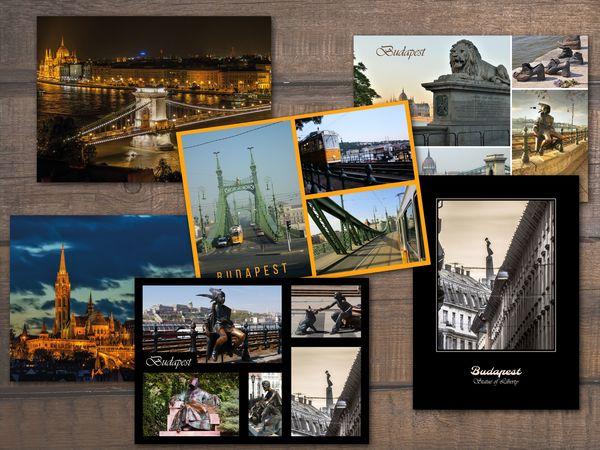 Budapest kepeslap csomag postcardsisters pack042c